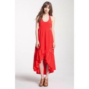 Juicy Silk Red Dress